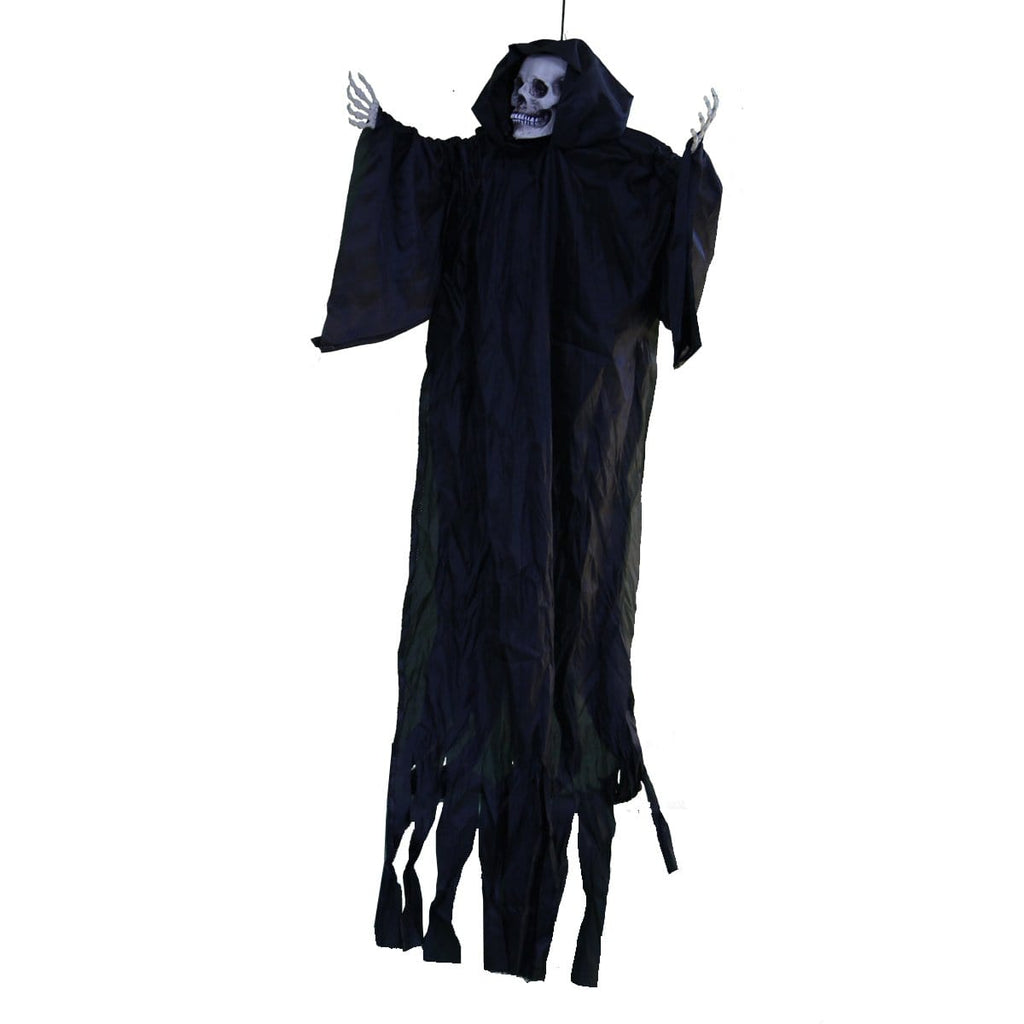 halloween hanging life size dementor in black