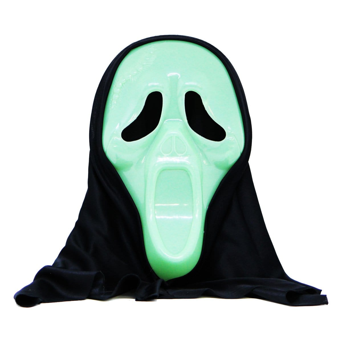 Halloween Glow in The Dark Mask: Ghost Face - Christmas World
