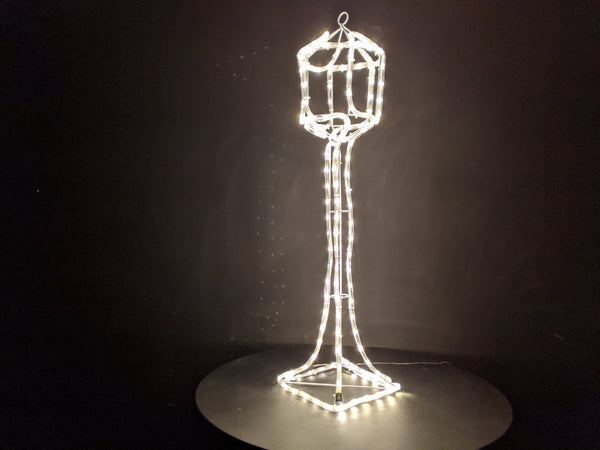 100cm Lamp Post Ropelight with Warm Warm leds