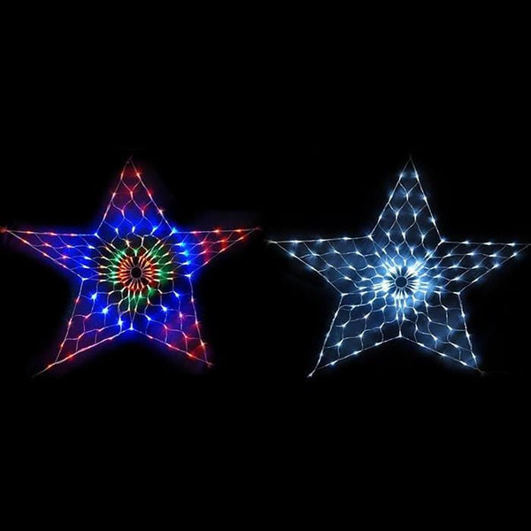 160 LED Star Net Light - 2x2 Meter - Christmas World