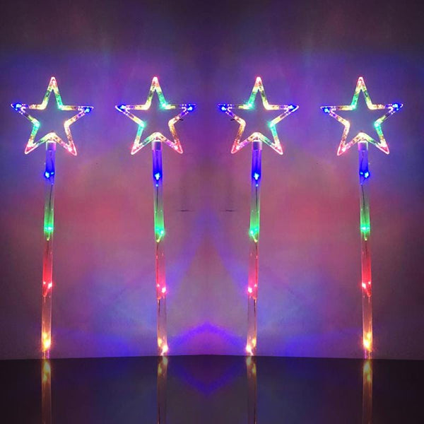 Star Path Lights - Multicolour