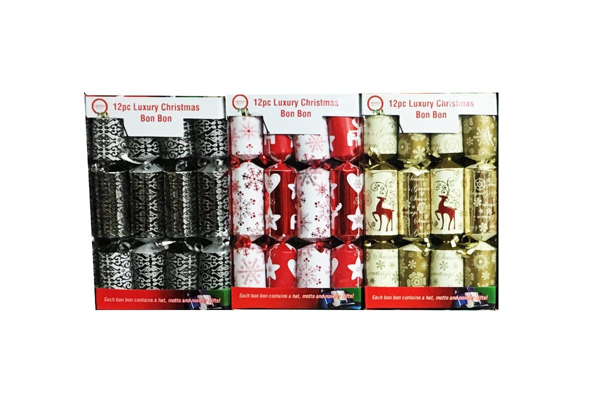 12 PCS LUXURY CHRISTMAS BONBON - Christmas World