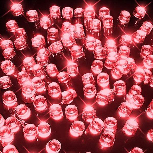 400 LED Fairy Lights - Red - 40 meters