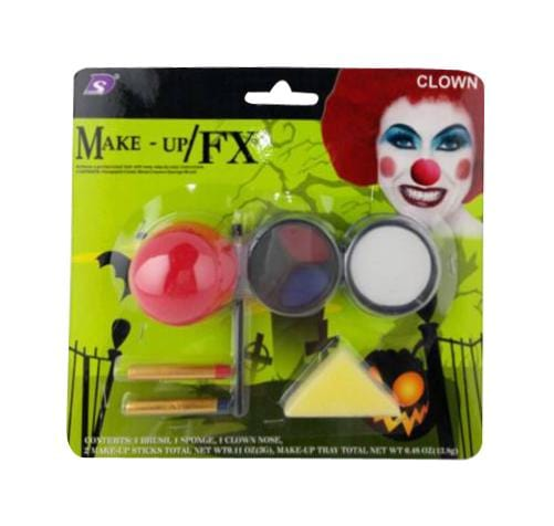 CLOWN MAKEUP SET - Christmas World