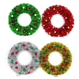 Tinsel Bauble Wreath