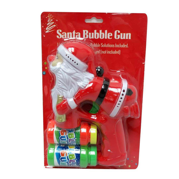 SANTA FLASH BUBBLE GUN