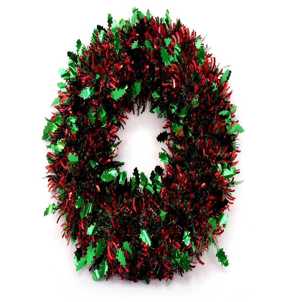 TINSEL WREATH DELUXE