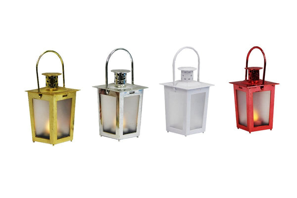 LED Mini Lantern - Battery Operated - Christmas World