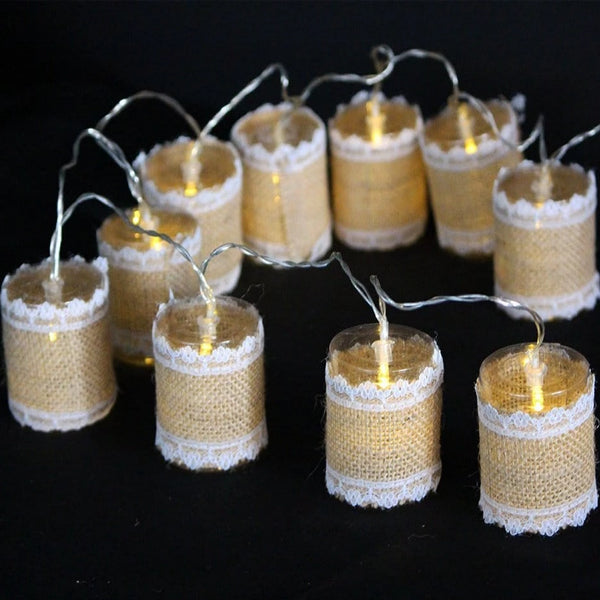 LED VINTAGE LANTERN LIGHTS 10Pcs