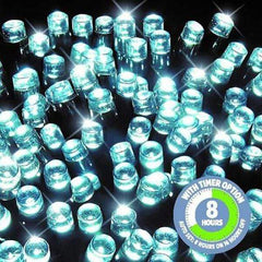 600 LED Fairy Lights - White - 60 meters