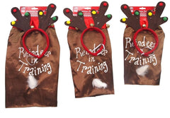 Christmas Reindeer/Elf Pet Outfit - Christmas World