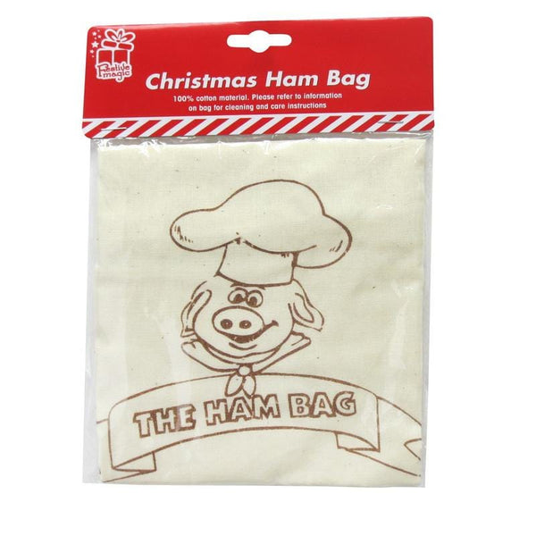 Christmas Hambag Cotton Print 50x40cm - Christmas World