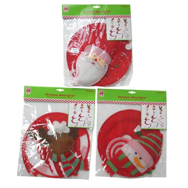 Christmas Wind Spiral Nylon - Christmas World