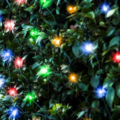 320 LED Waterfall Net Lights - Multicolor/White - Christmas World