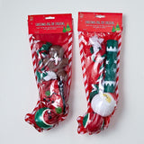 Dog Toy Stocking 4 Pieces - Christmas World