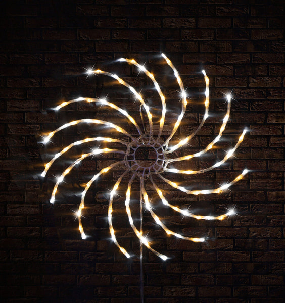 LED SPINNER LIGHT 50cm WARM AND COOL WHITE