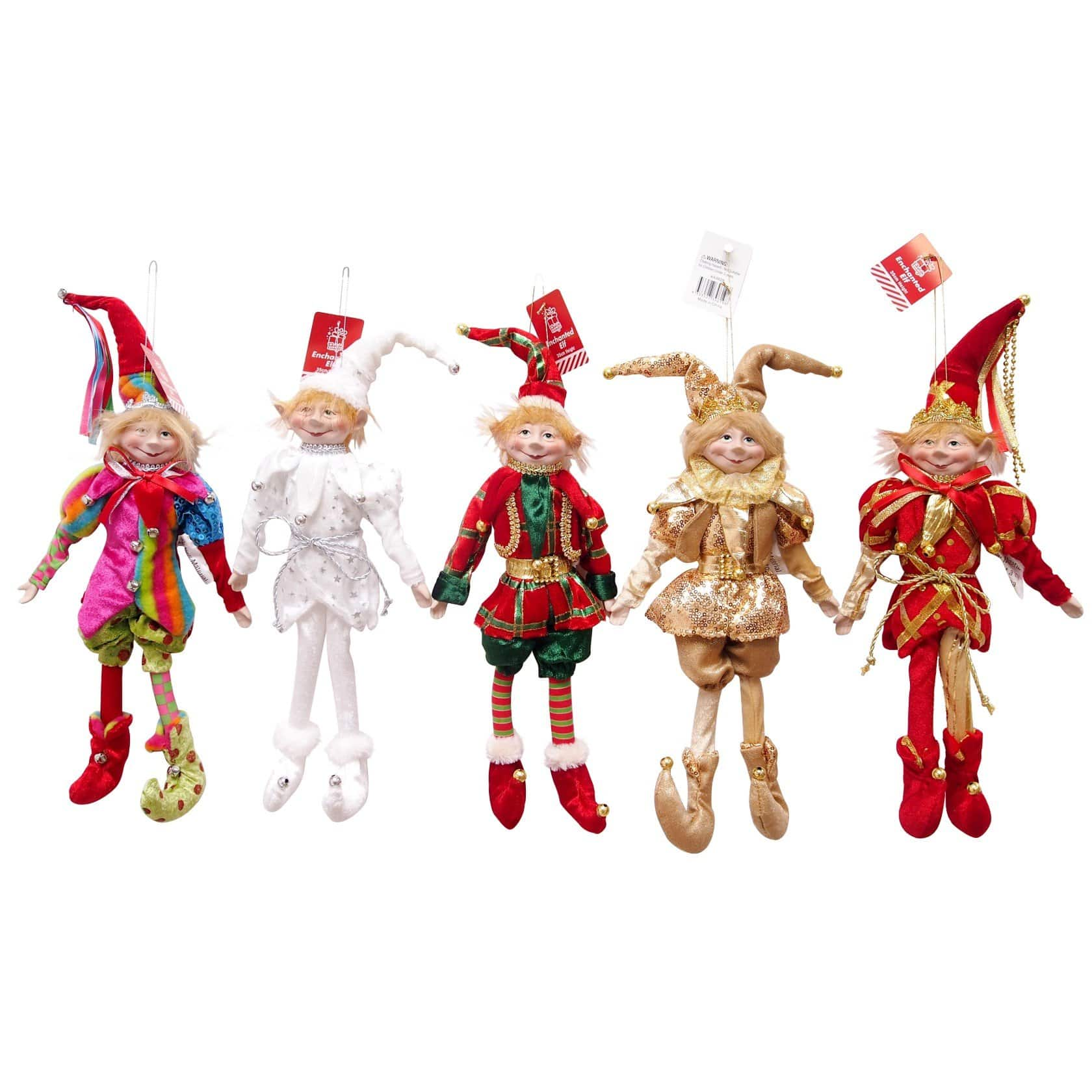 Costumed Elves - 35cm