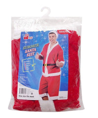 SUMMER SANTA SUIT 4PC FLEECE