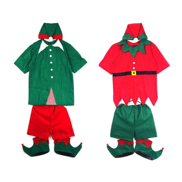 ELF Summer Costume 5 Piece  Adults - Christmas World