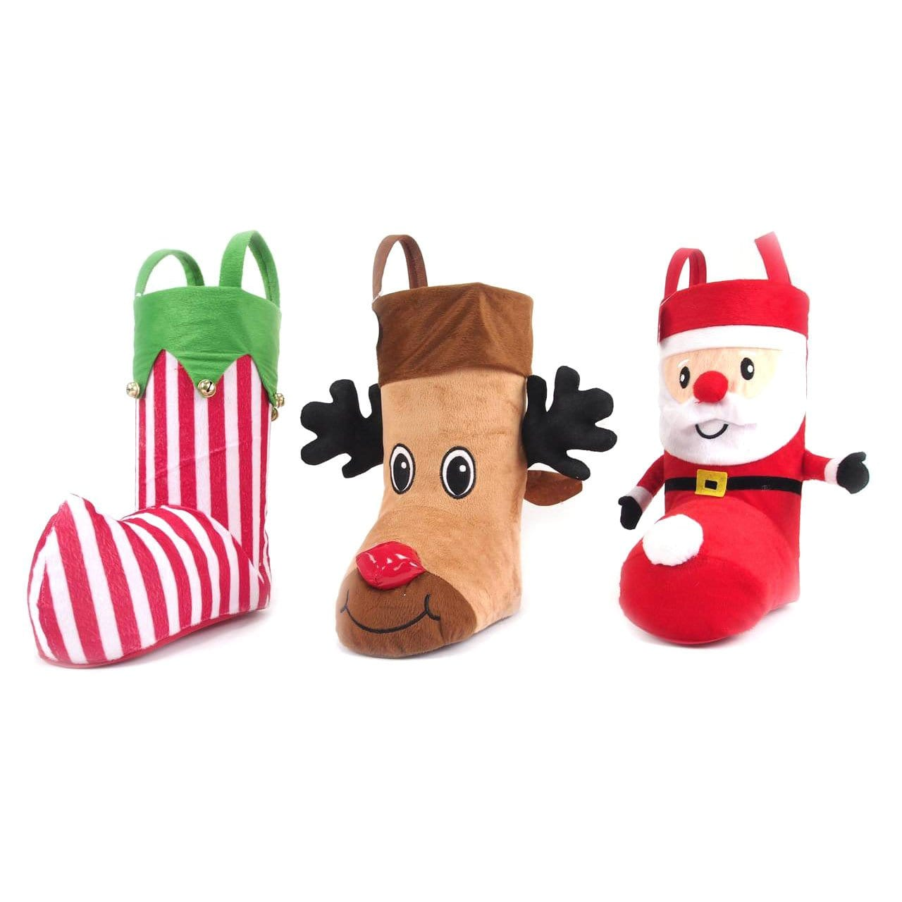 Novelty Boot Stocking - Christmas World