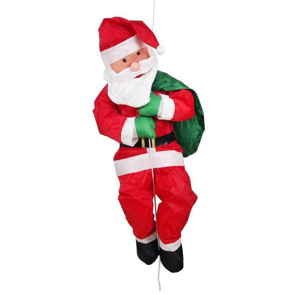 Santa House Climber On Rope 120cm - Christmas World