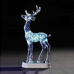 LED Light Up Stand Reindeer 28cm - Christmas World