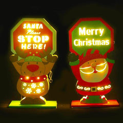 LED Display Sign - Christmas World