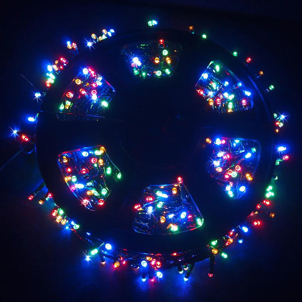LEDs Flashing Multicolour Reel - 1000 Lights
