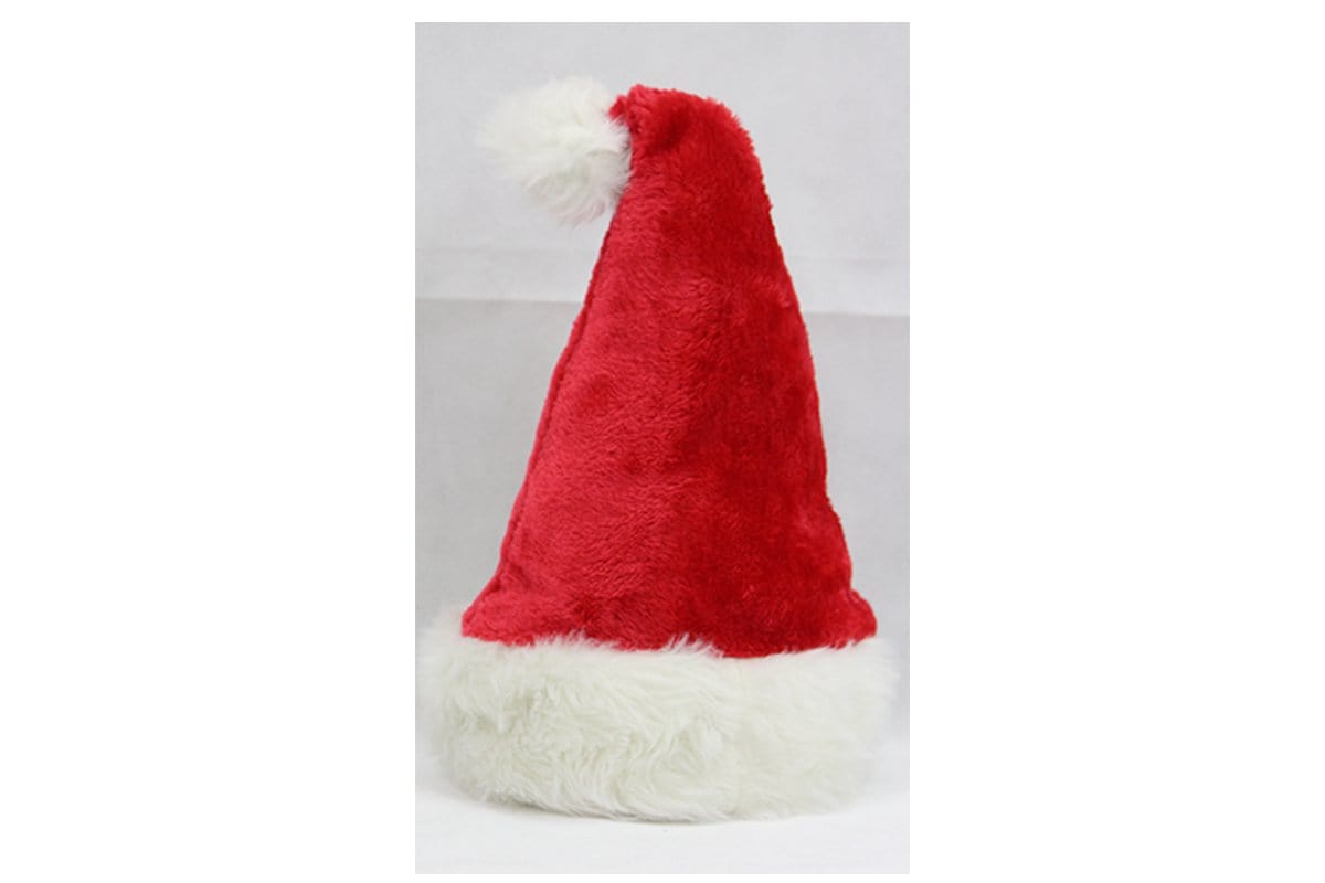 Deluxe Plush Santa Hat Designs - Christmas World