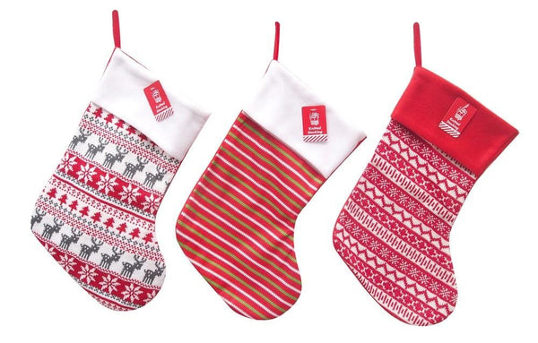 WINTER KNITTED STOCKING 44cm