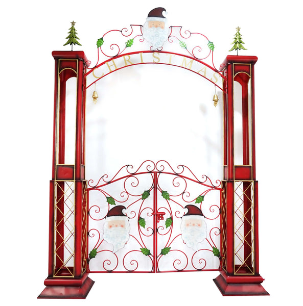 CHRISTMAS GATE 204x273cm - Christmas World