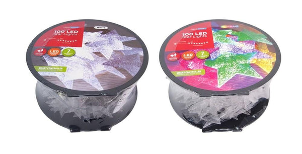 LED STARS LIGHT 100 REEL WHITE/MULTICOLOR