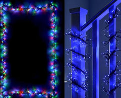 NEW ARRIVAL: LED CLUSTER LIGHTS 2000 MULTICOLOR OR BLUE AND WHITE