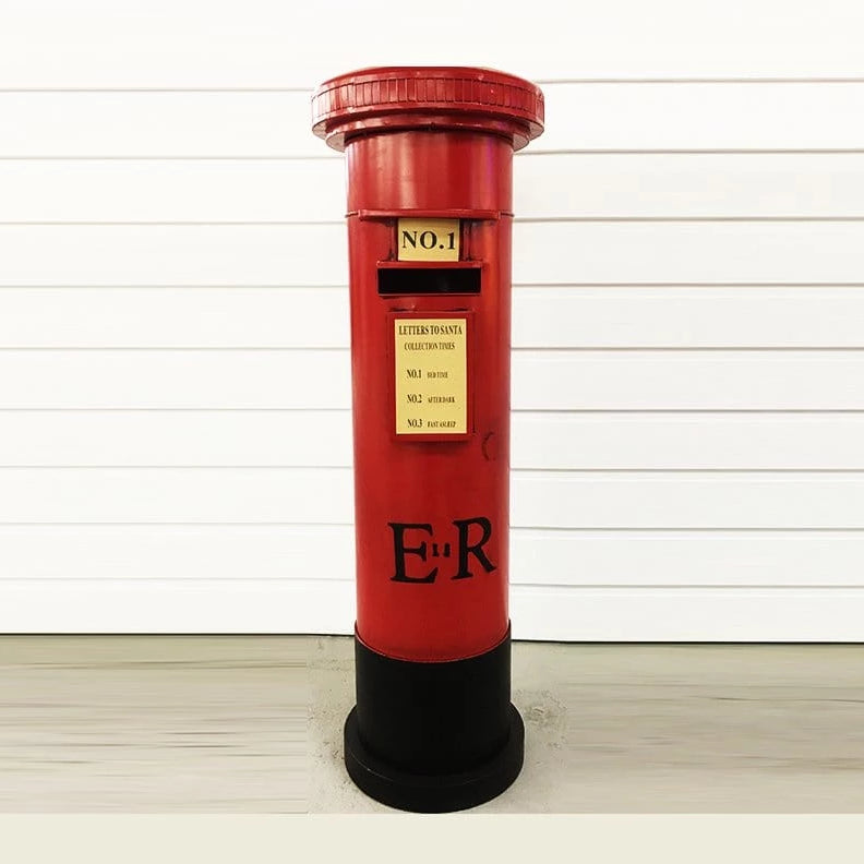 NEW STOCK ARRIVED: METAL MAILBOX SANTA'S COLLECTION 122cm