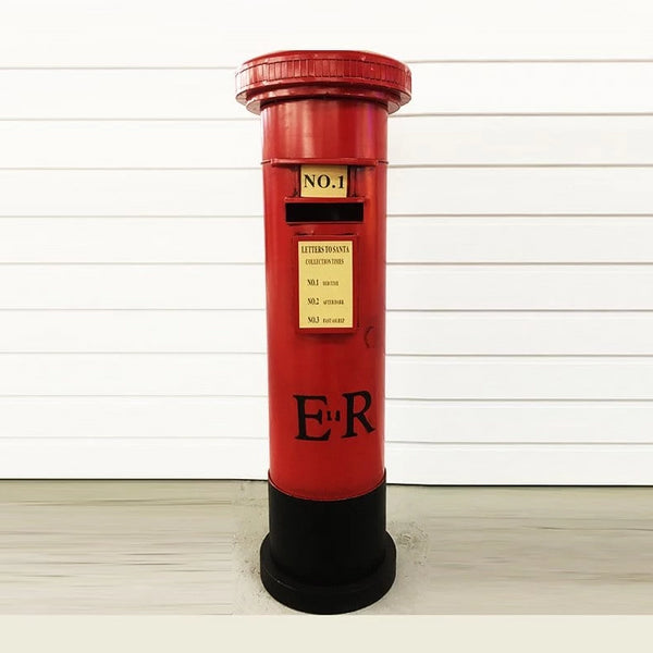 METAL MAILBOX SANTA'S COLLECTION 122cm