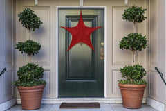 POP-UP TINSEL STAR 80cm 3 colors available