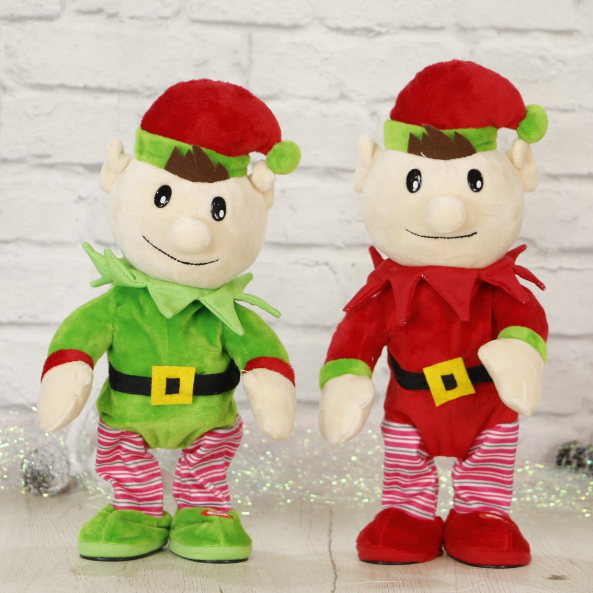 Singing and Dancing Elf Plush Toy
