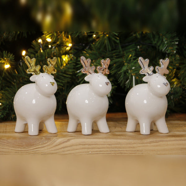 Cute Glazed Reindeer Deco