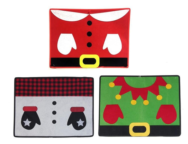 FELT NOVELTY PLACEMAT 33x44.5cm - Christmas World