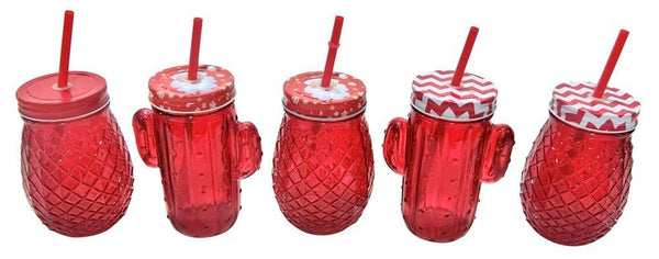XMAS PINEAPPLE/CACTUS DRINK JAR