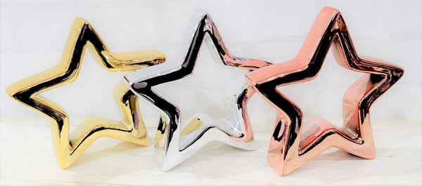TABLE DECO STAR 14.5cm 3 colors available