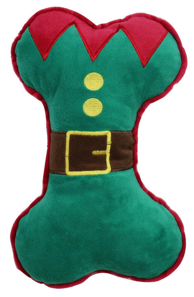 PLUSH DOG TOY ELF BONE HUGE 30cm