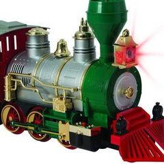 CLASSIC TRAIN SET SOUND 24pcs DELUXE: Battery Operated - Christmas World