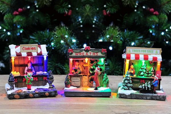 LED LIGHT UP CHRISTMAS SHOP COLLECTION