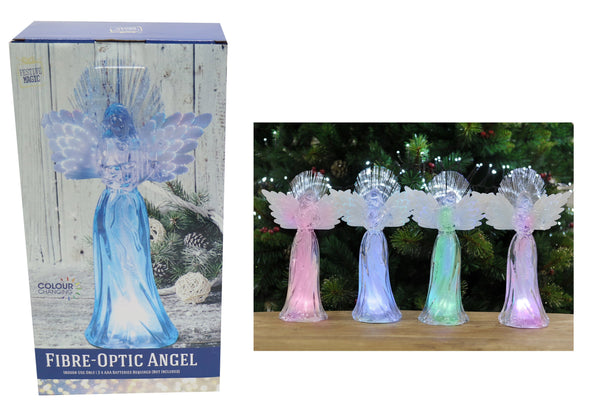 LED Colour Changing Angel