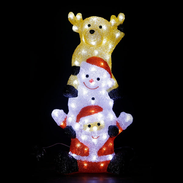 Acrylic Character Tower - 59.5cm - Cool White LEDs