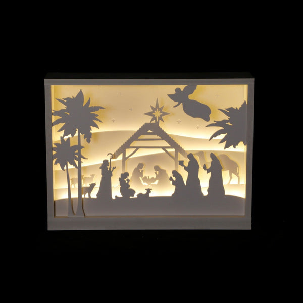LED Nativity Lightbox