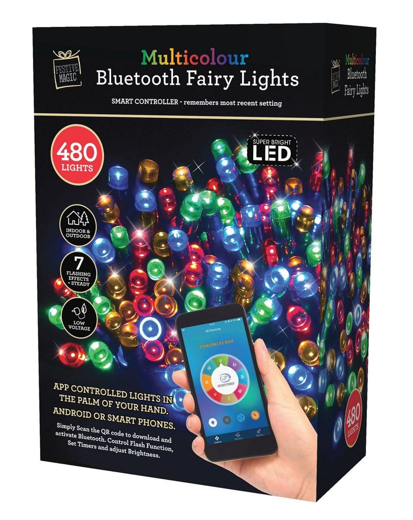 led fairy lights 480 app control white multicolor christmas world