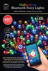 LED FAIRY LIGHTS 480 APP CONTROL WHITE / MULTICOLOR