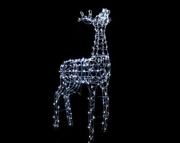 NEW ARRIVAL: LED WIRE GIANT REINDEER 180cm